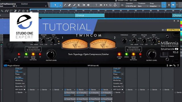 AB Plug-ins In Studio One - Use Macros To Compare Brainworx Bus Compressors