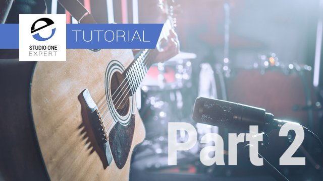 Mixing Acoustic Guitar In Studio One With Waves - Part 2