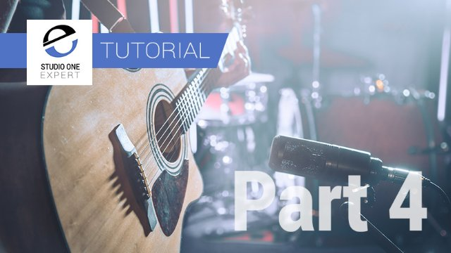 Mixing Acoustic Guitar In Studio One With Waves- Part 4