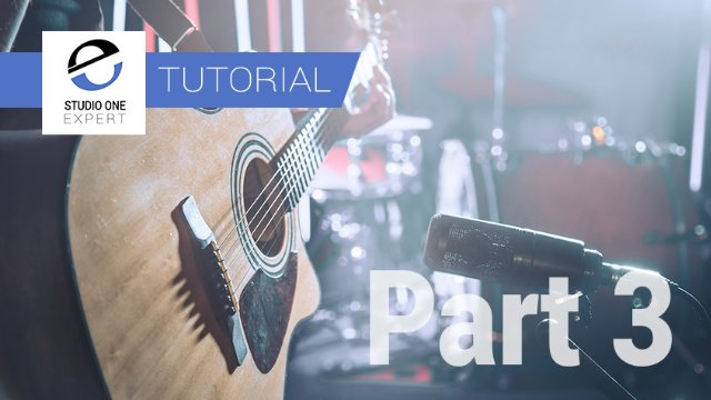 Mixing Acoustic Guitar In Studio One With Waves- Part 3