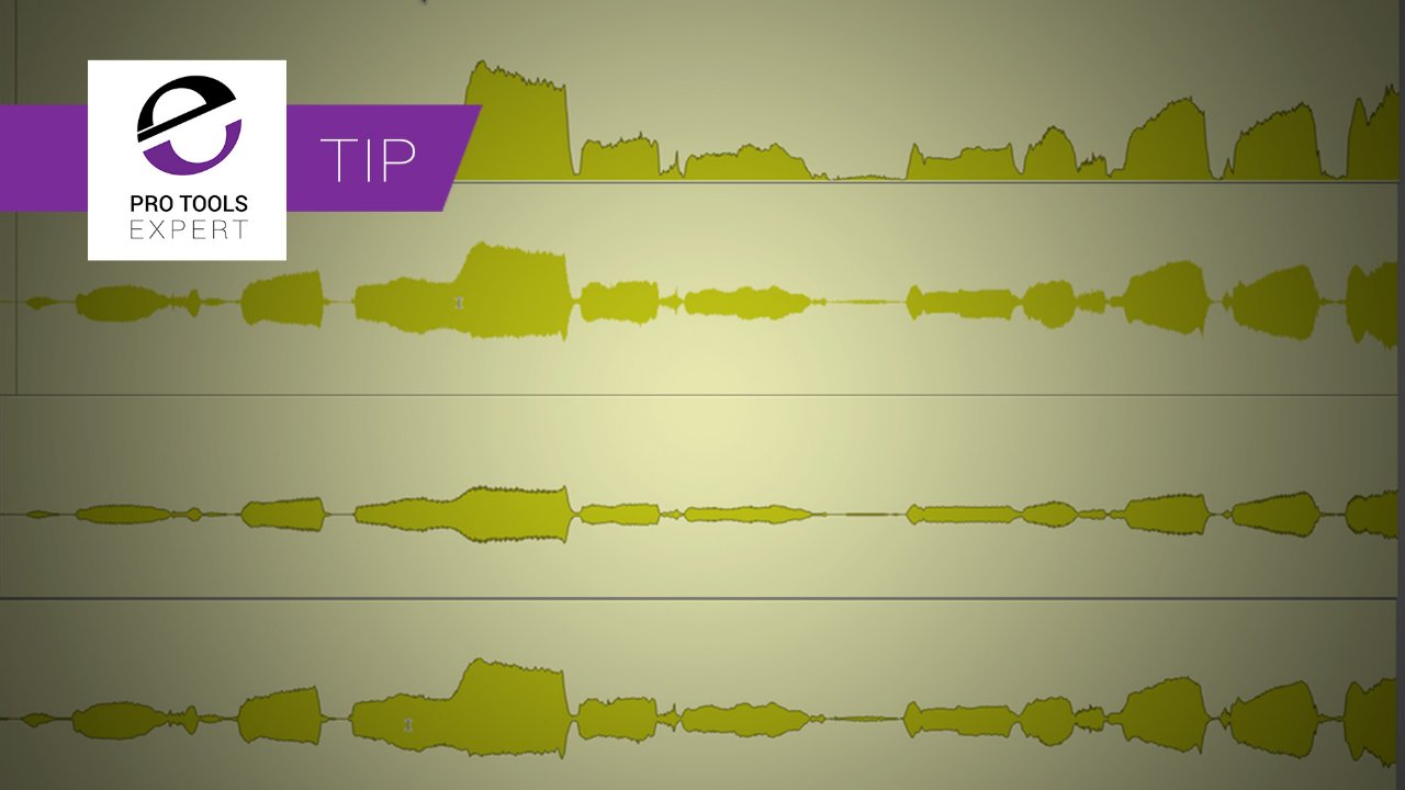 Pro Tools Waveform Views, Are Yours Left On The Default