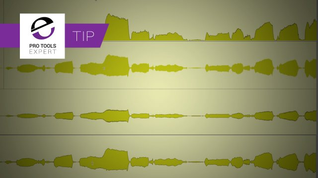 Pro Tools Waveform Views, Are Yours Left On The Default Setting?