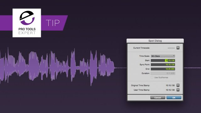 Spot To Original Timestamp - Free Expert Tip