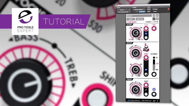 Using The New Louder Than Liftoff Chop Shop EQ To Thicken Guitars - Expert Tutorial