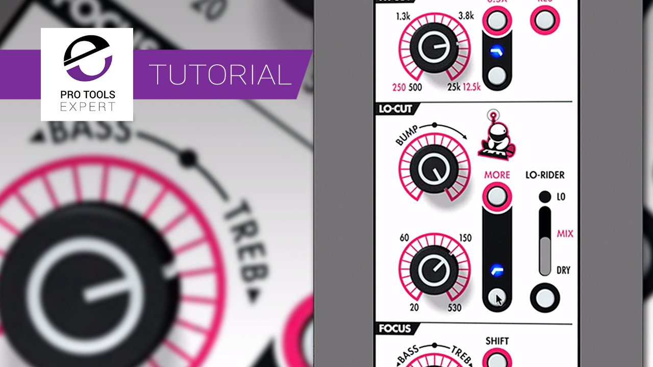 Using The Lo Rider Setting In The Ltl Chop Shop Eq To Add Weight To Kicks Expert Tutorial Pro Tools