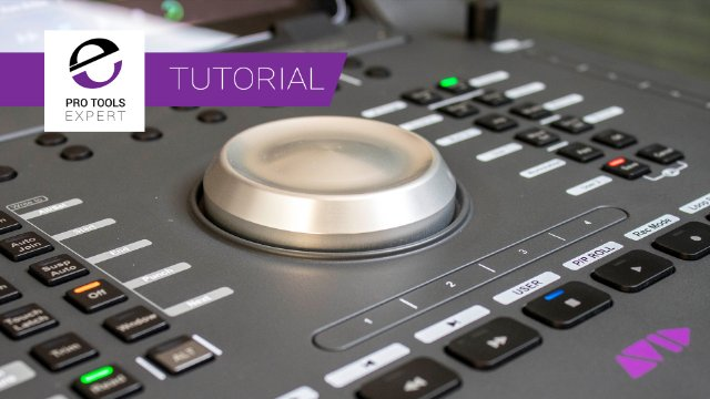 Avid Dock Tutorial - Customising Button and Touchstrip Assignments