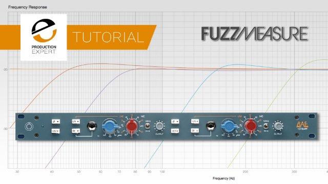 Measuring The High Pass Filter On A 1073 Using Fuzzmeasure - See The Sound Of Your Hardware