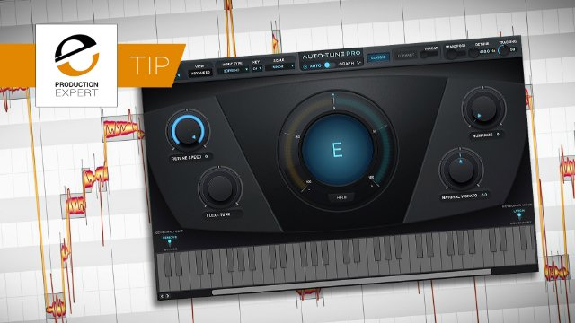 Double Bag Your Next Vocal Tuning Process By Feeding Melodyne's Graphical Workflow Into Antares Auto-Tune Pro' Automatic Mode For Quick, Easy & Precis