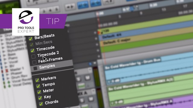 Quick Control Of Pro Tools Multi-Select Menus
