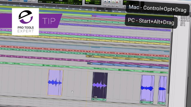 Drop Pro Tools Clips Exactly Where You Need Them - Expert Tip