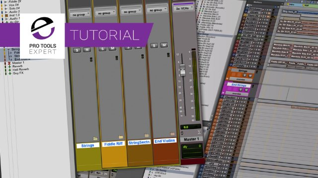 Basic Folder Tracks In Pro Tools