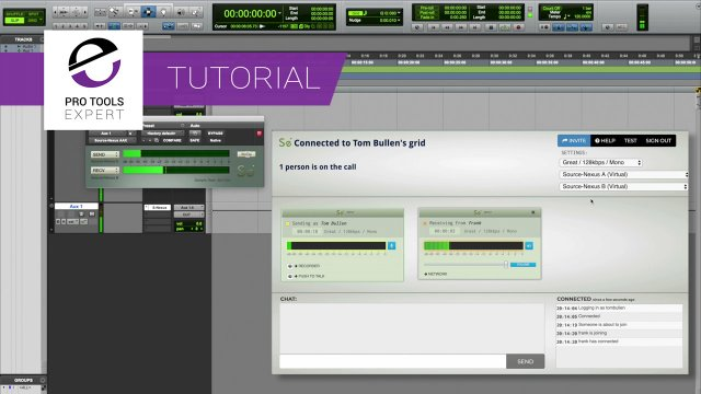 How To Use Source-Nexus To Rote Audio Between Pro Tools And Source-Connect Now