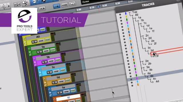 Nested Folder Tracks In Pro Tools