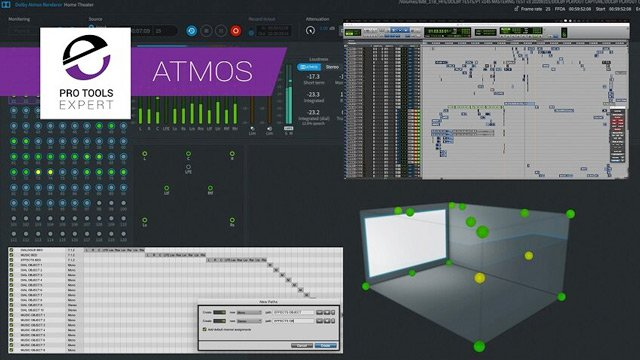 Dolby Atmos - Setting Up Your Pro Tools Session And The Dolby Atmos Production Suite - Free Expert Tutorial Part 1
