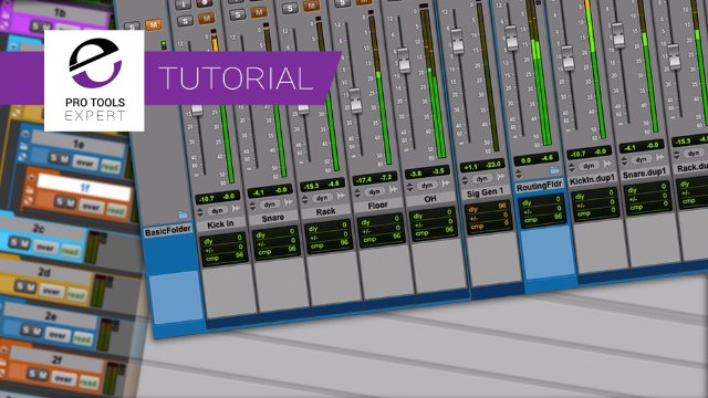 Do You Know The Different Way Basic And Routing Folder Tracks Treat Solo And Mute?  - Free Tutorial