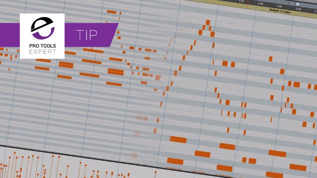 Fit Pro Tools MIDI To Editor Or Track - Free Tip