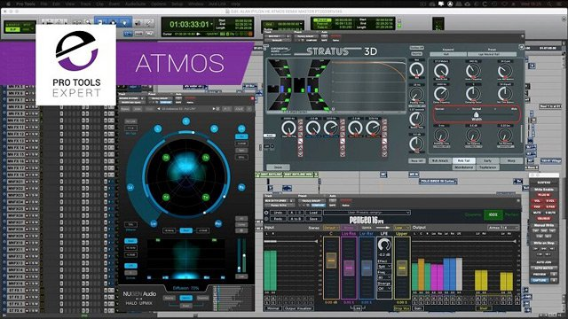 Dolby Atmos - Using Upmixers, 3D Reverbs With Objects - Free Expert Tutorial Part 5