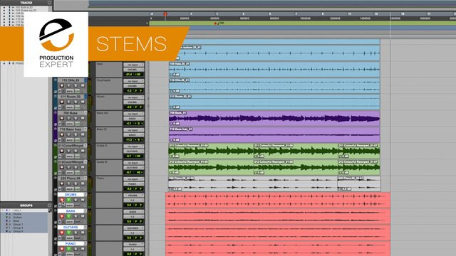 Stems In Music Production