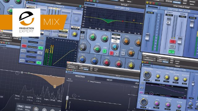 Mixing Using Just Sonnox Oxford Plugins