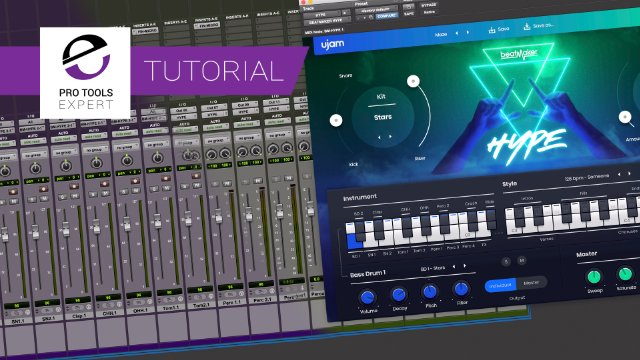 Use Pro Tools Folder Tracks To Take Control Of Virtual Instruments