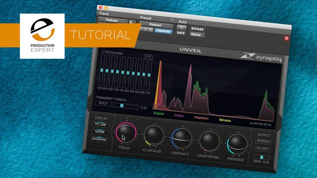 Zynaptiq Unveil - How To Reduce Reverb - Expert Tutorial