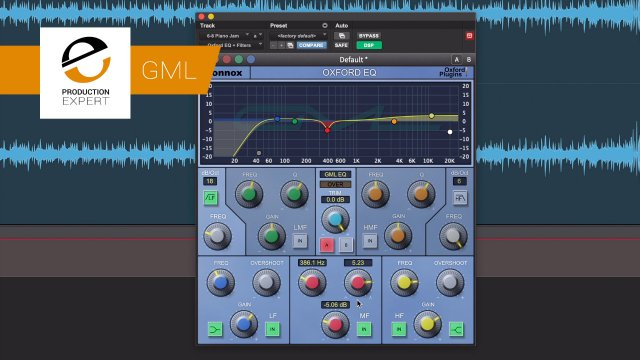 Sonnox Oxford EQ GML Option - The AAX DSP Only Mode