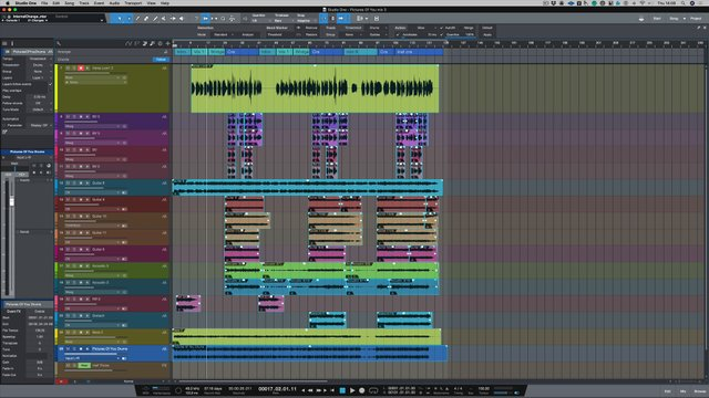 Top Studio One Features - Episode #4 Manipulating Audio Tempo And Chord Track