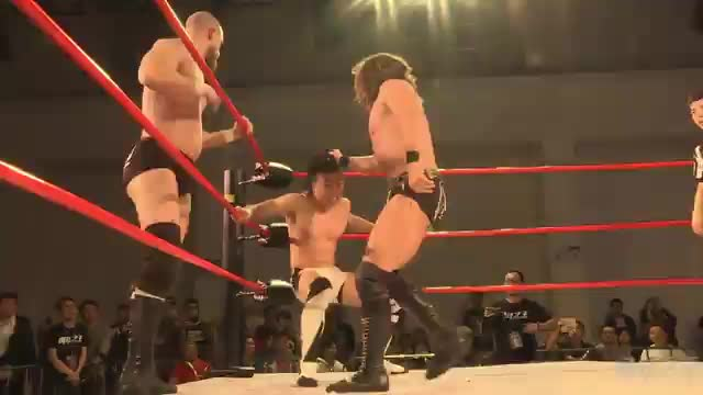 PROGRESS Tag Team Title Match: GYV v King Michael and Bit Man (KOPW, Guangzhou, China)