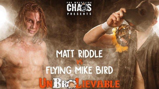 Matt Riddle vs Mike Bird (PROGRESS Atlas Title Match)