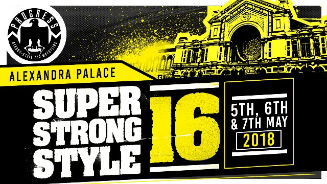 The 2018 Super Strong Style 16 Draw - LIVE!*