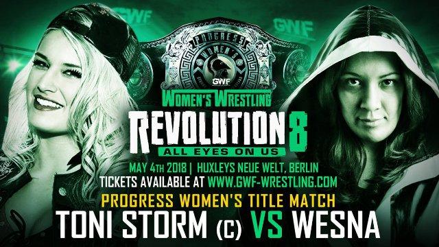 PROGRESS Women's World Title Match: Toni Storm vs Wesna (GWF, Berlin, Germany)