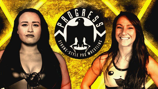 Jordynne Grace vs Kylie Rae (PROGRESS Women's Title Match)