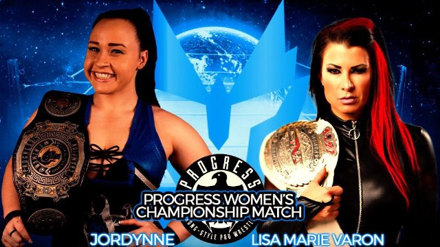 Jordynne Grace vs Lisa Marie Varon (PROGRESS Women's Title Match)