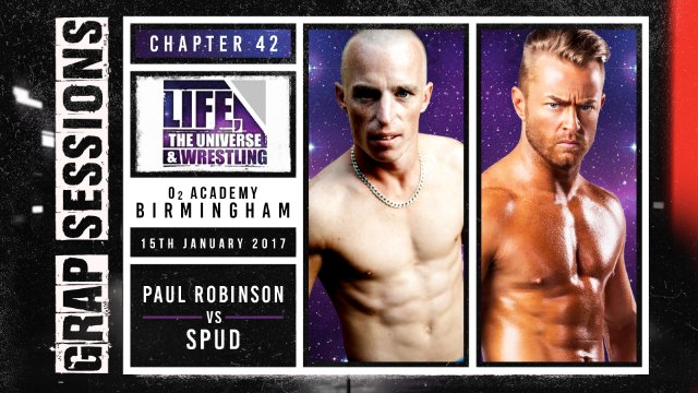 GRAP SESSIONS: Paul Robinson vs Rockstar Spud