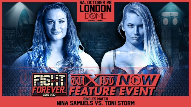 wXw: Fight Forever Tour - London
