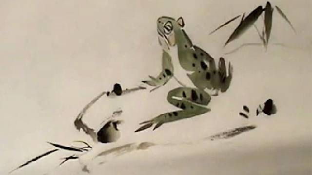 Frog from Chinese Animal Painting: Lesson 503