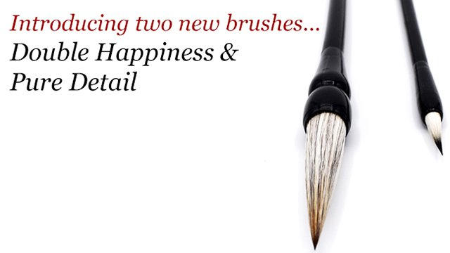 Product Demonstration: Pure Detail & Double Happiness Brushes