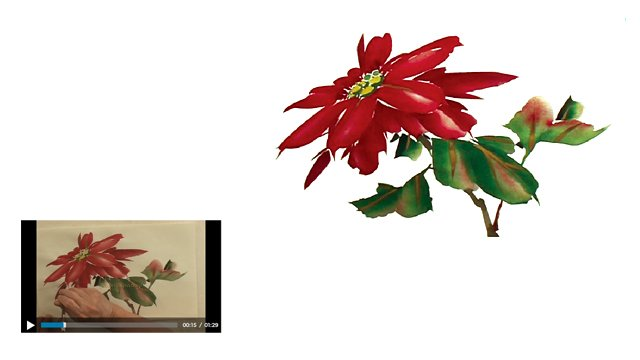Season's Greetings from Chinese Brush Painting Basics: Lesson 608