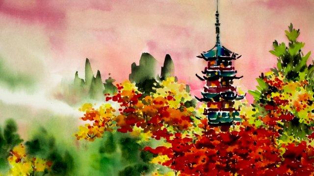 Fall Pagoda Part 1: Pagoda
