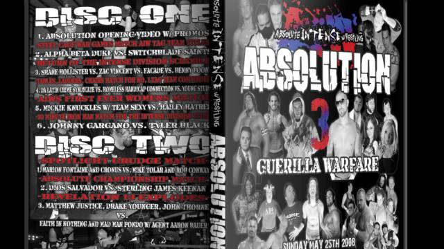 Absolution 3 - May 28, 2008