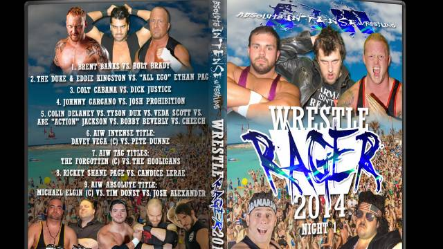 WrestleRager Night 1 - September 5, 2014