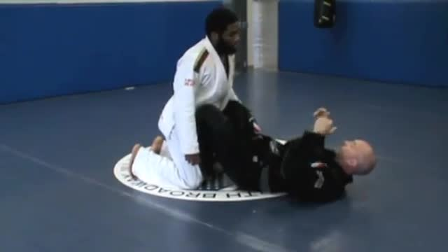 Butterfly guard to X-guard