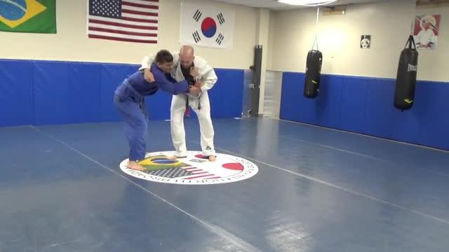 Rubber guard, 2 takedowns