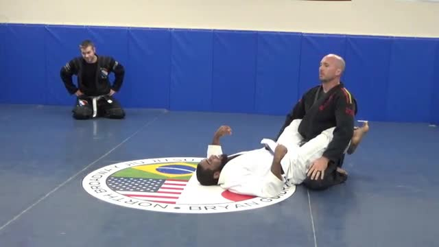 Guard break standing