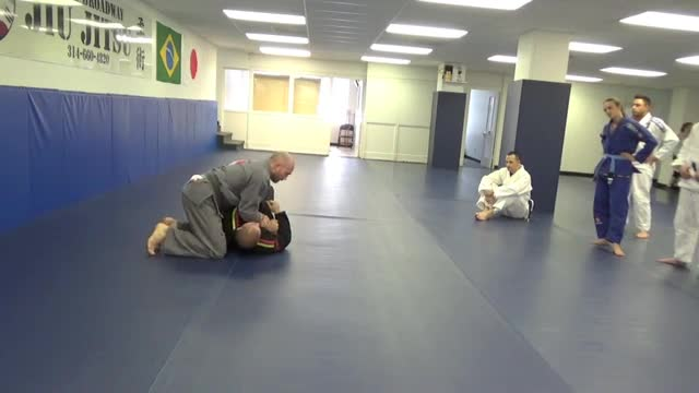 Kimura from side