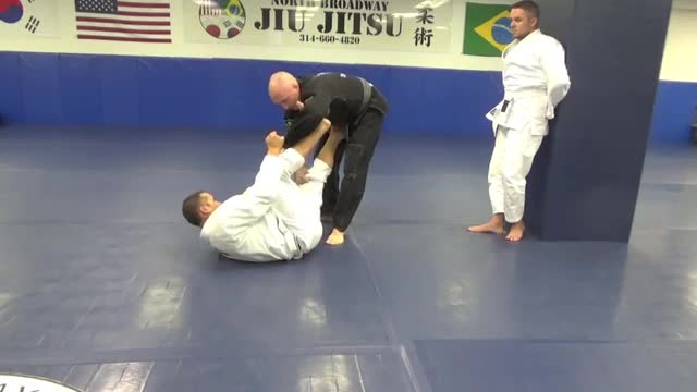 Spider guard passing