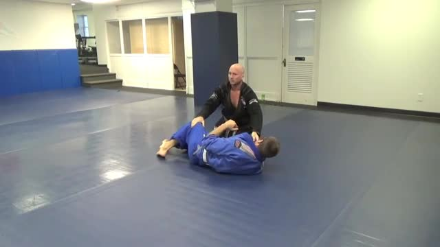 Passing knee shield