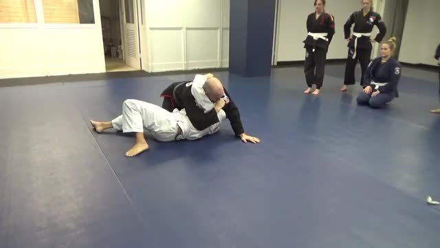Arm bar from side mount