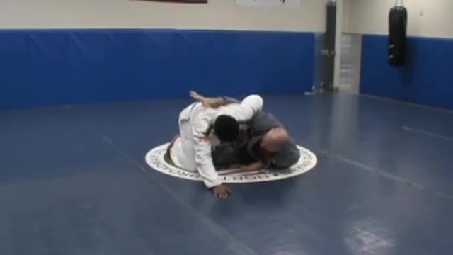 Throw series, half guard