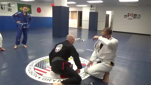 Half guard recovery